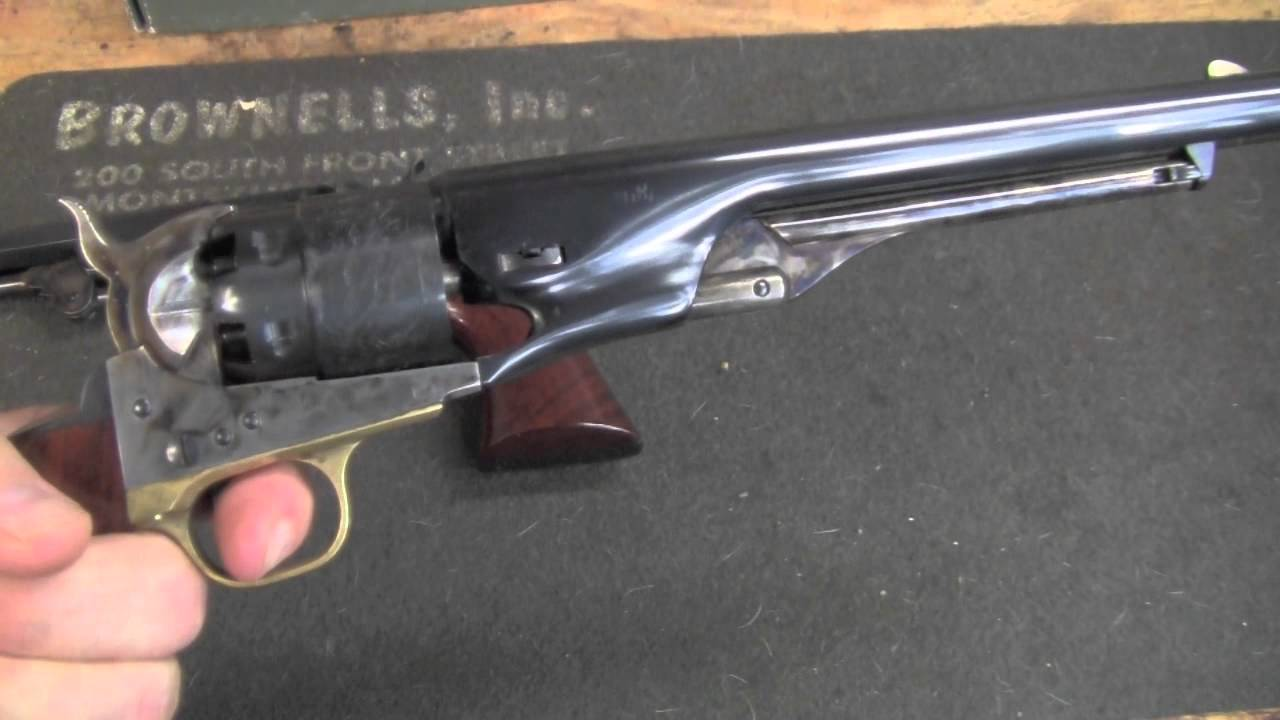 64bdd8382b2 Shooting the 1860 Army Revolver.mov - YouTube