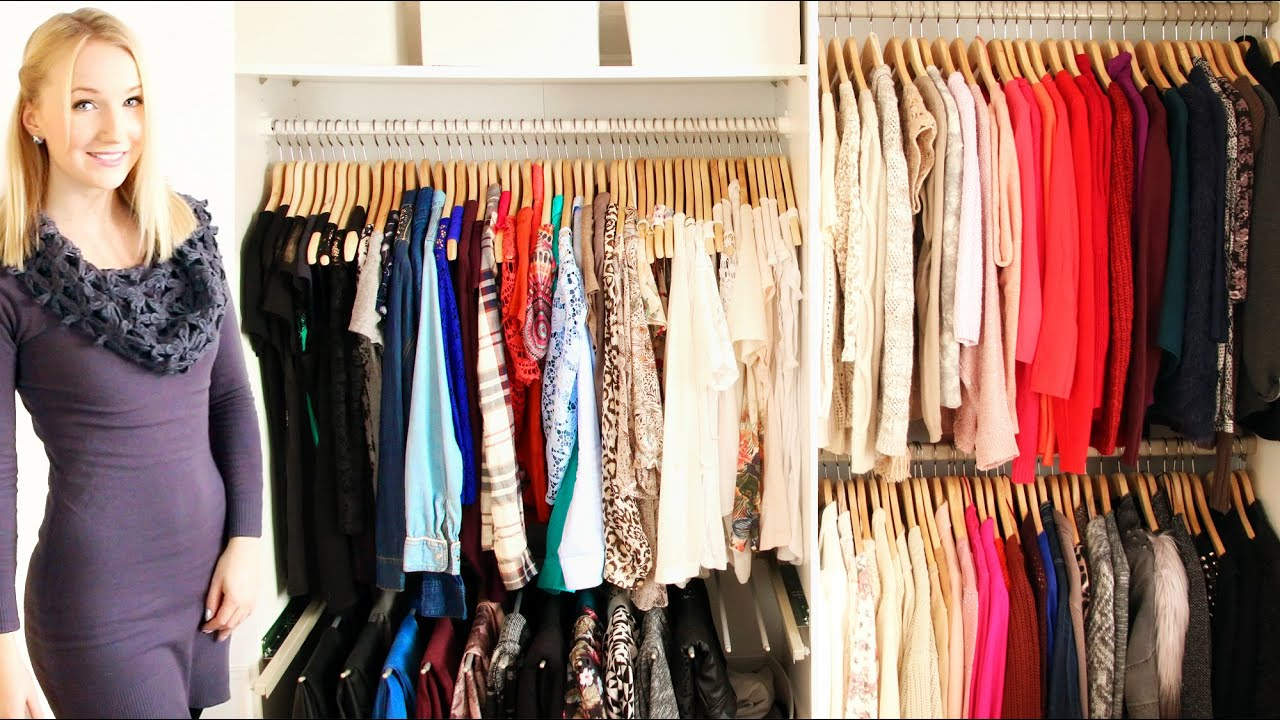 8 Tipps Zum Kleiderschrank Ausmisten Organisieren Youtube
