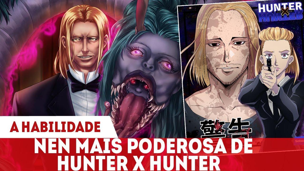 FUTURO PARALELO - A HABILIDADE NEN DE TSERRIEDNICH  E SUAS BESTAS DE NEN EXPLICADA - Hunter x Hunter