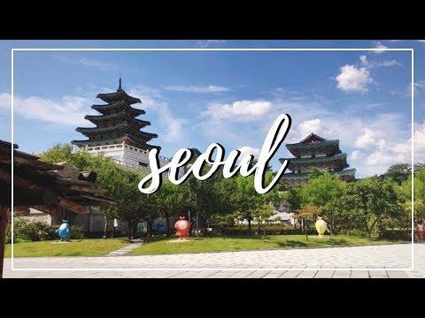 Seoul, South Korea Travel Vlog 2018   Myeongdong, Namsan Seoul Tower, Insadong etc.