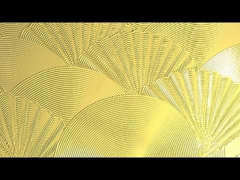 Artexing Fan Shell Combination Wall Texture Pattern Youtube