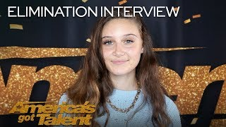 Elimination Interview: Makayla Phillips Chats About The AGT Stage - America's Got Talent 2018