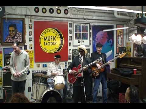 Little Freddie King @ Louisiana Music Factory 2010 - PT 2