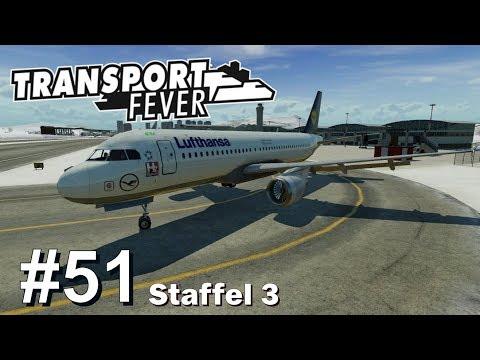 TRANSPORT FEVER S3/#51: Ein Flughafen für Frankfurt [Let's Play][Gameplay][German][Deutsch]