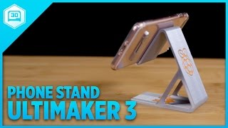 Dual Extruded Mobile Stand - Timelapse Tuesday #3DPrinting