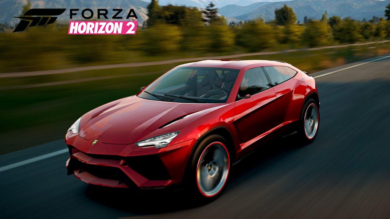 Forza Horizon 2 Lamborghini Urus Youtube