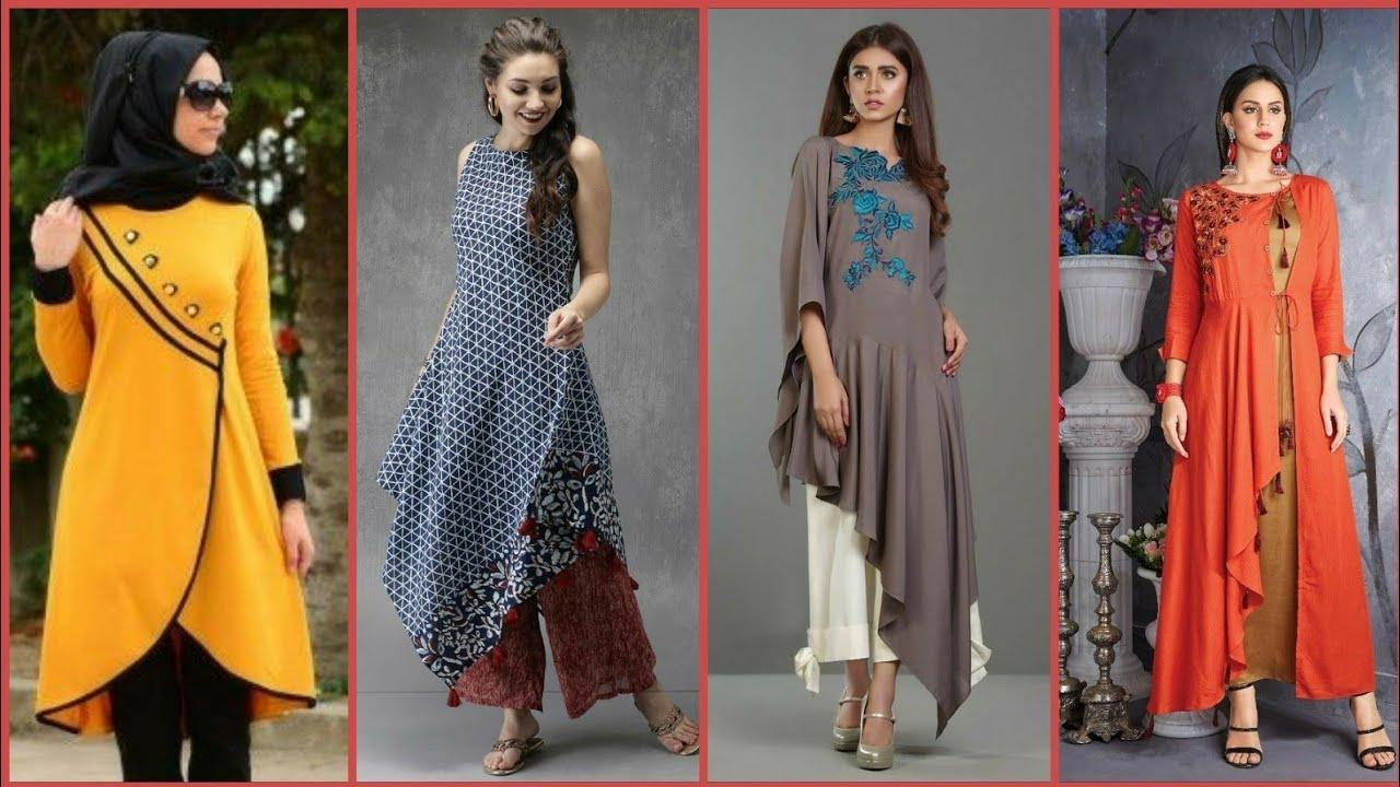 Latest New Designer Kurti Designs 2019 Eid Special New Design Dress Kurta Kurti Youtube