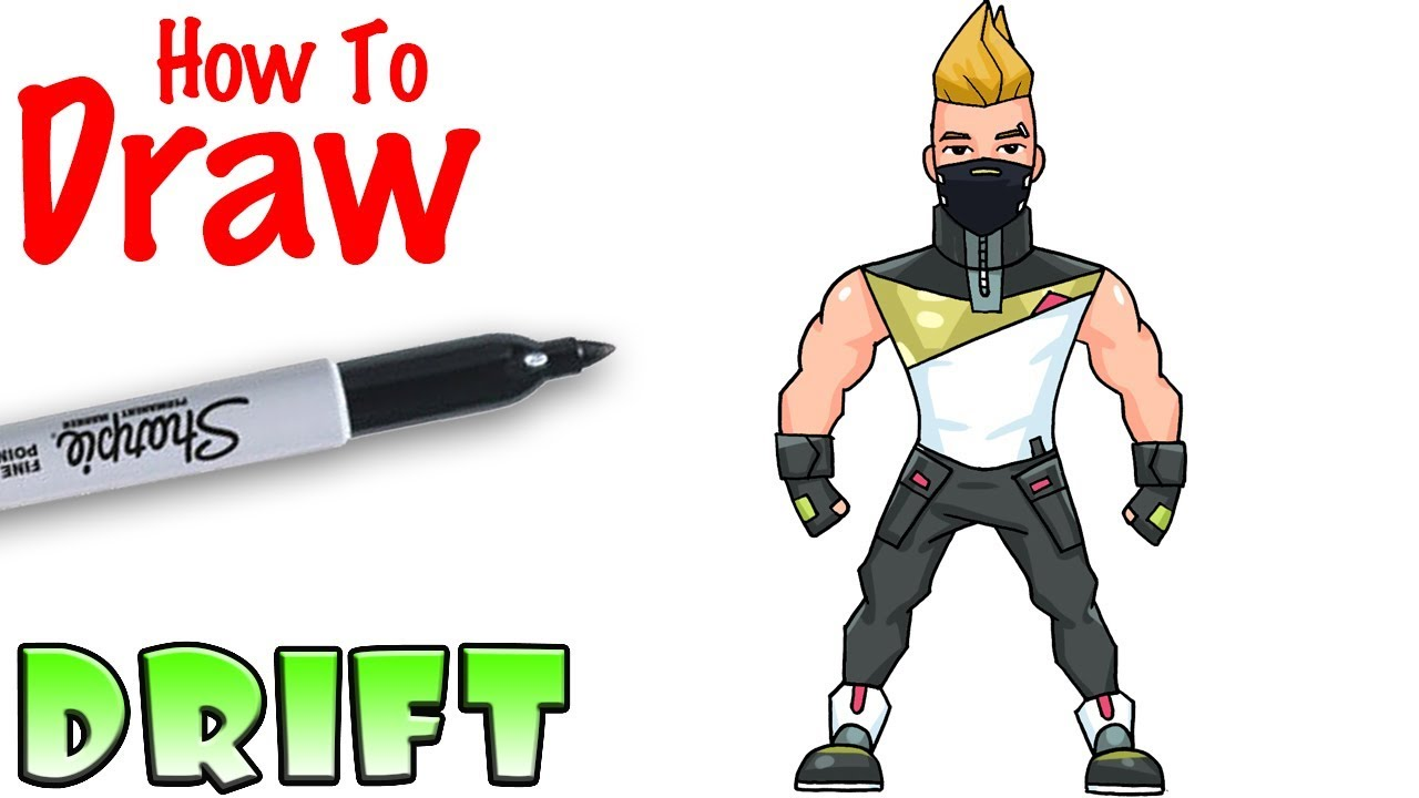 How To Draw Drift Fortnite Youtube