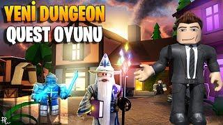 [Mini] 🧙 Yeni Dungeon Oyunu! Wizard & Warrior ⚔️ | Treasure Quest | Roblox Türkçe