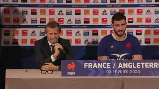 Press Conference: Fabien Galthié and Charles Ollivon on France's victory   Guinness Six Nations