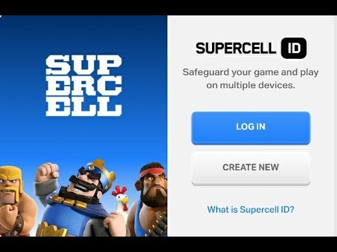 How To Transfer Your Clash Of Clans Account From One Email To Another Email With SUPERCELL ID.