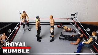 Royal rumble match: wwe royal rumble 2017