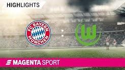 FC Bayern München II - VfL Wolfsburg II   Relegations-Rückspiel, 18/19   MAGENTA SPORT