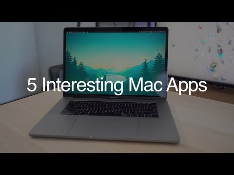 Five Interesting Mac Apps Worth Checking Out - June 2018