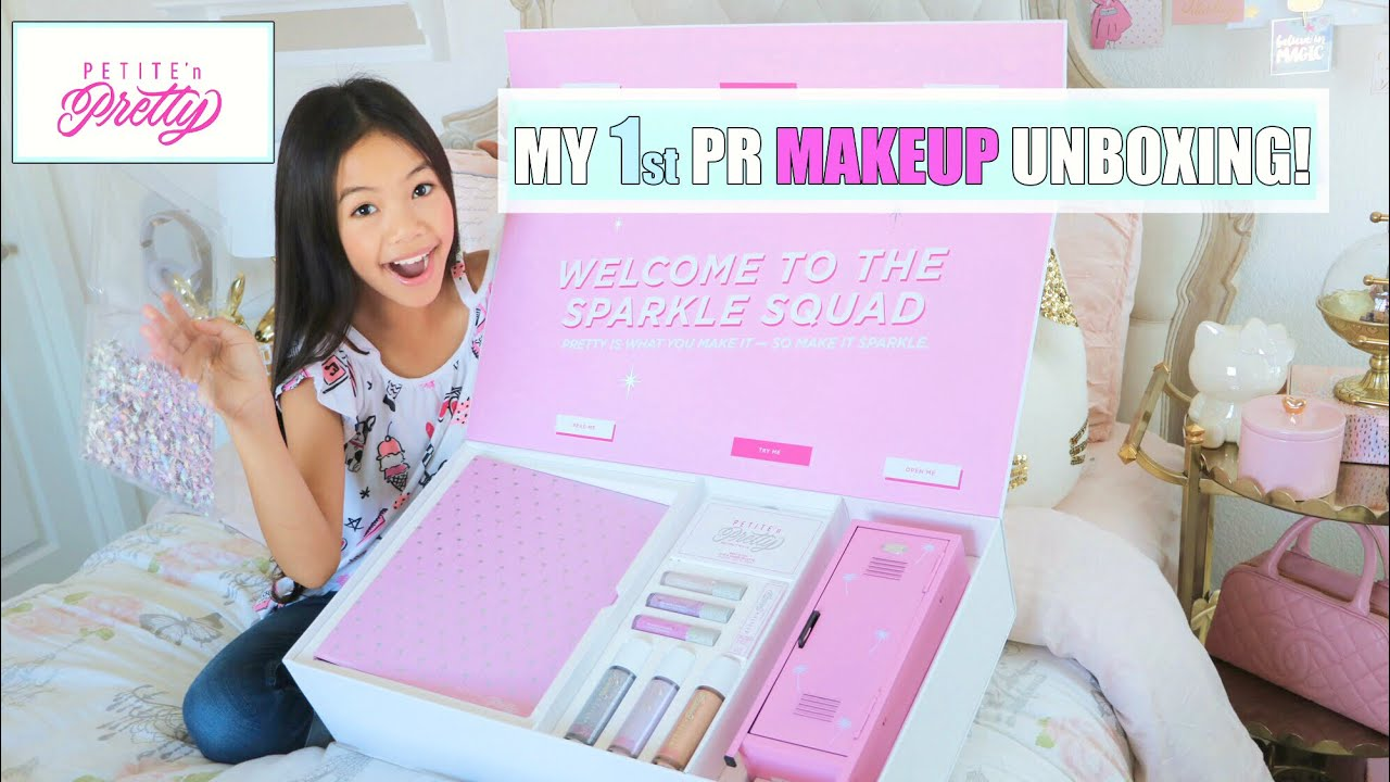 Petite N Pretty Pr Makeup Unboxing Youtube