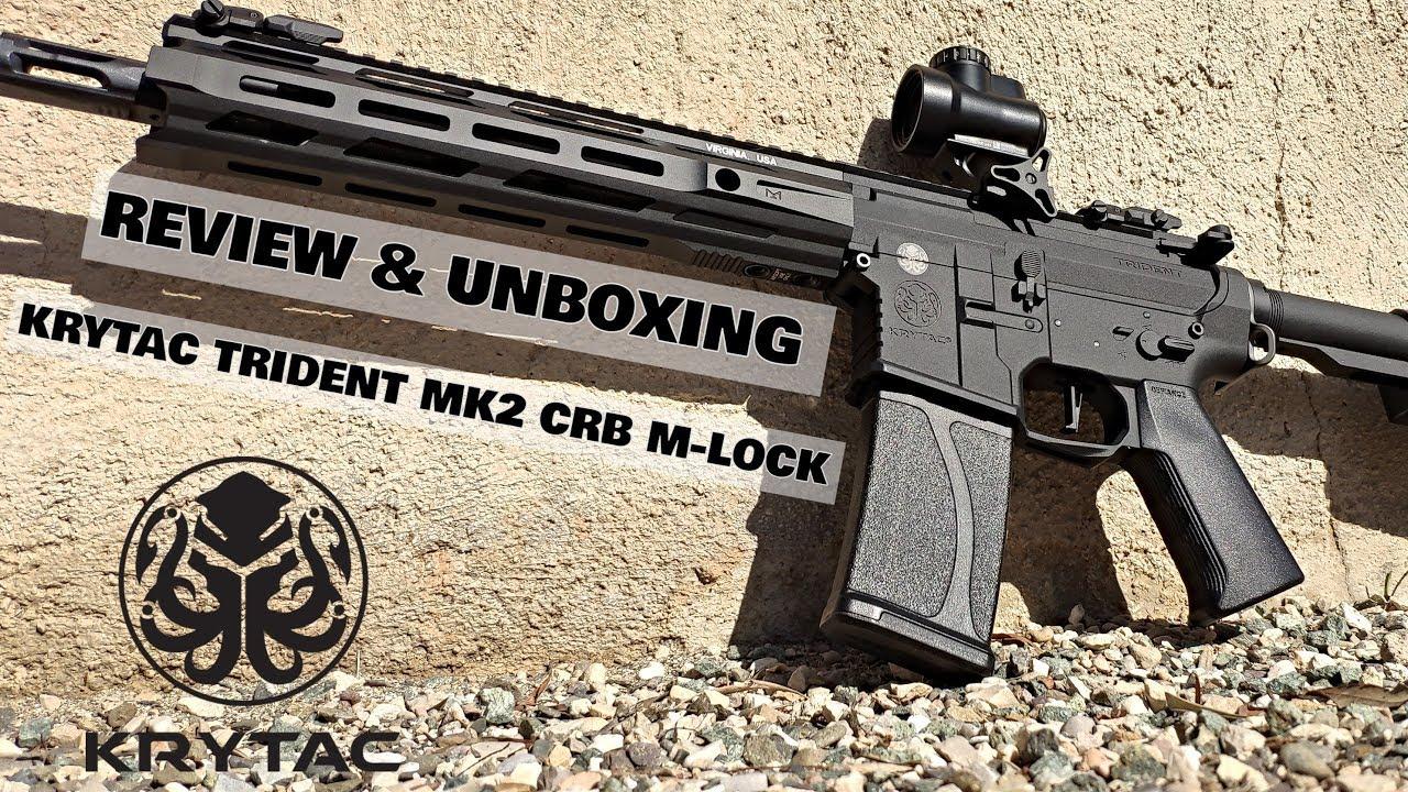 KRYTAC TRIDENT MK2 CRB M LOCK REVIEW AIRSOFT ESPA U00d1A