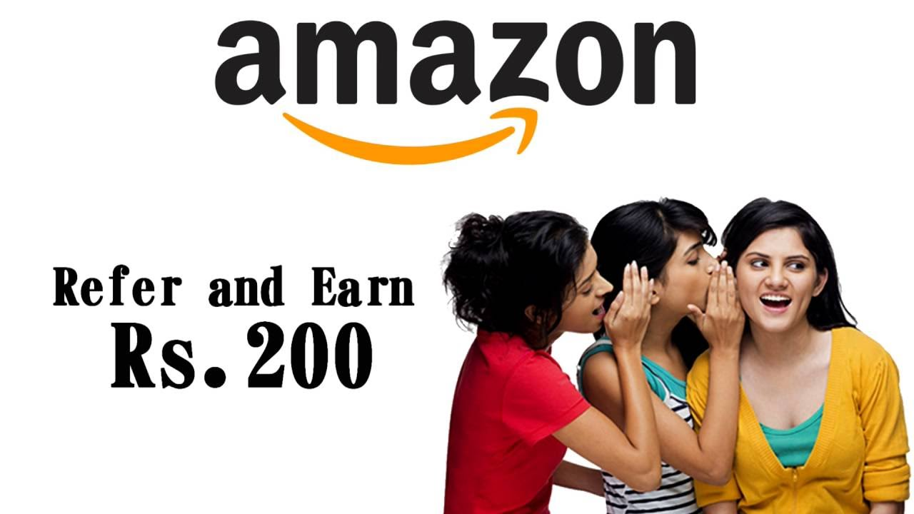 How To Make Money Online  Refer And Earn Money From Amazon  Hindi