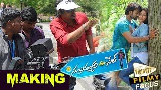 Subramanyam For Sale Telugu Movie Making || Sai Dharam Tej || Regina Cassandra