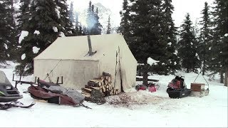 Annual Alaska Winter Camping trip - Men And Boys Big Campout