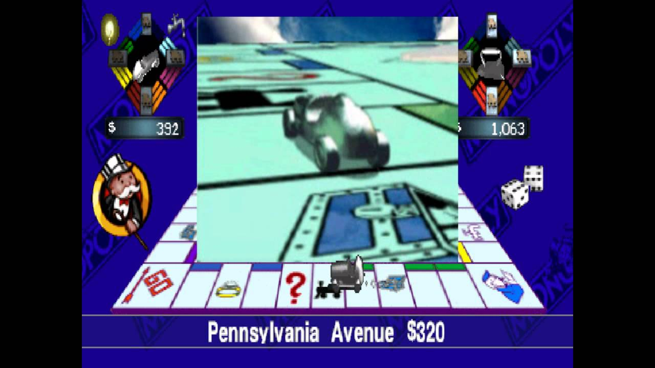 Monopoly | Playstation Longplay - YouTube