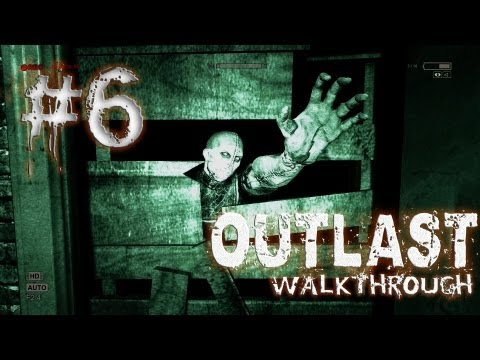 Outlast Walkthrough Part #6: GEH WEG !!