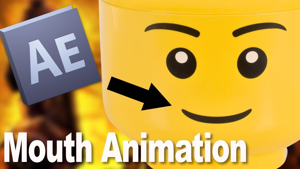 Lego Mouth Animation Tutorial (in Adobe After Effects)