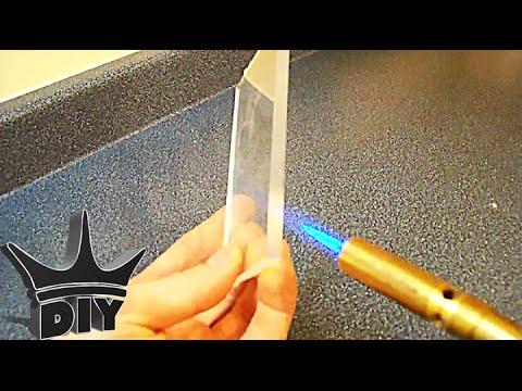 How To Flame Polishing Acrylic Youtube