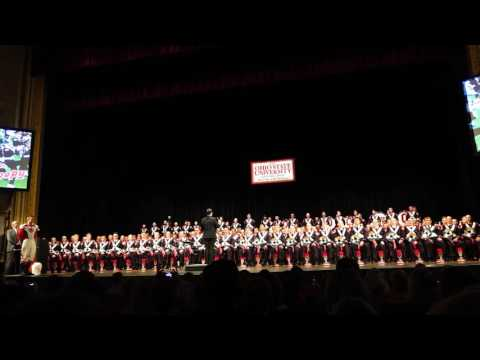 Ohio State Marching Band Hang on Sloopy Band  Concert 11 10 2016