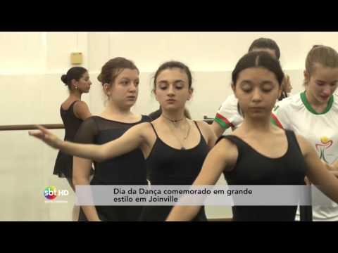 Dia da Dança comemorado em grande estilo em Joinville