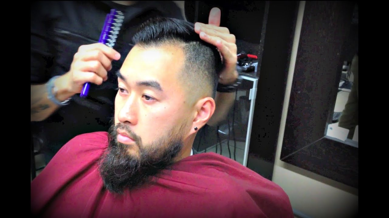 How To Style Asian Hair For Men The Comb Over Youtube