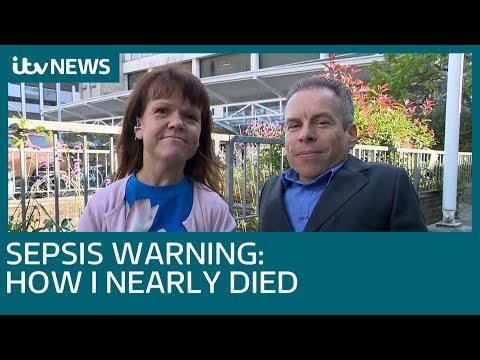 Sepsis warning: Warwick Davis and his wife on how she nearly died  ITV