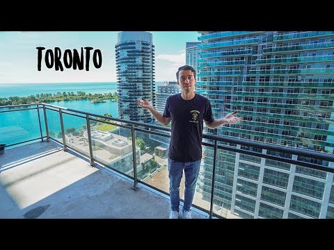 HOW CHEAP IS TORONTO!? (Luxury Apartment Tour)