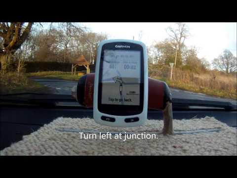 Garmin Edge Touring Course Navigation