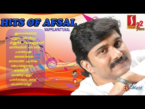 Hits of Afsal | Super Hit Mappila Songs of Afsal | Hit Mappilapattukal