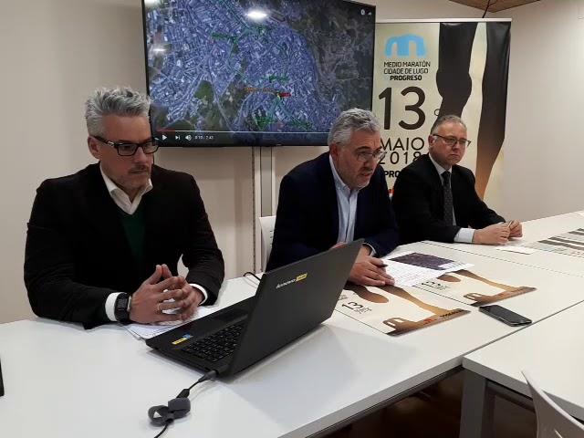 Presentación do II Medio Maratón Cidade de Lugo