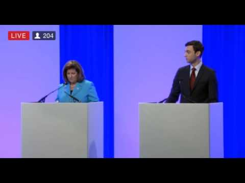 Ossoff thanks Georgia Public Broadcasting at WABE/PBA debate