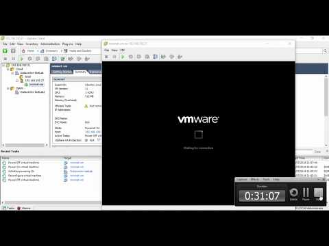 Physical To Virtual (P2V) Migrations With The VMware VCenter Converter