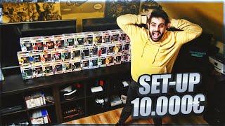 MI SET UP DE MÁS DE 10.000€  *COLECCIÓN DE FUNKOS Y CONSOLAS*