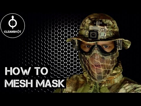 How to Mesh Mask | Tutorial
