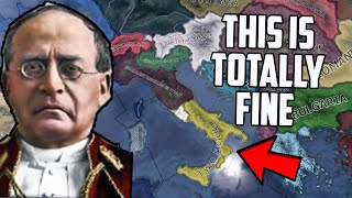 What If Italy Was An ABSOLUTE MESS HOI4