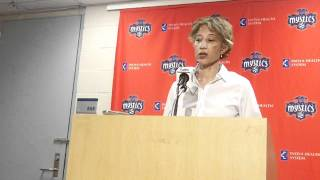 Trudi Lacey post game conference
