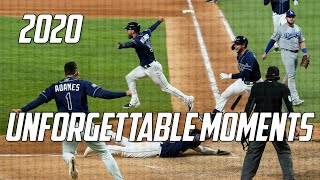 MLB | 2020 - Unforgettable Moments