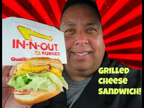 IN-N-OUT BURGER® Grilled Cheese Sandwich Review!