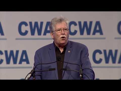 CWA President Chris Shelton | 76th CWA Convention | CWA Video