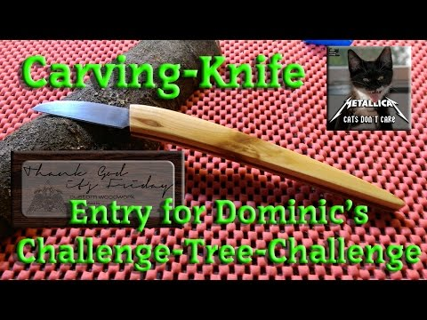 Challenge Tree Entry -- TGIF Carving Knife
