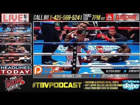 Charlo ICES Lubin, Spence vs Peterson Official, Plus Thurman vs. Spence in 2018?