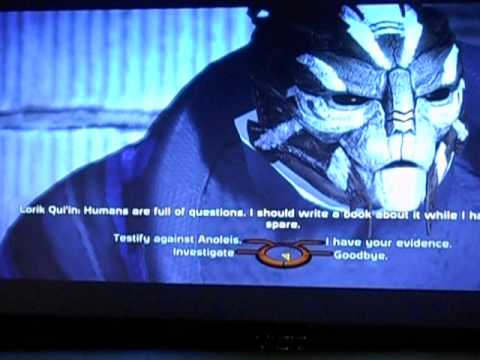 Mass Effect Renegade/Paragon Glitch