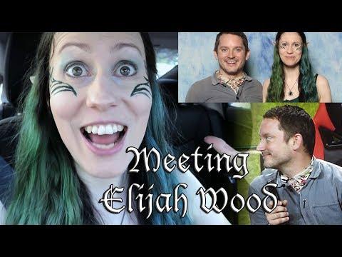 Meeting Elijah Wood at Comiccon Montreal 2019
