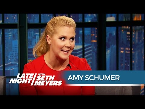 Amy Schumer Talks Trainwreck - Late Night with Seth Meyers