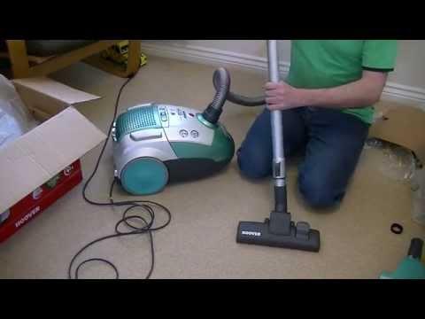 Hoover Eco G Telios TTG1100 Vacuum Cleaner Unboxing & First Look